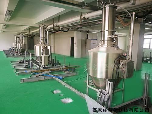 食品行业气力输送系统